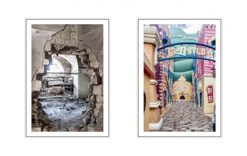 screaming silence I 2019 - 16 disneyland paris & aleppo, syria, leica q2