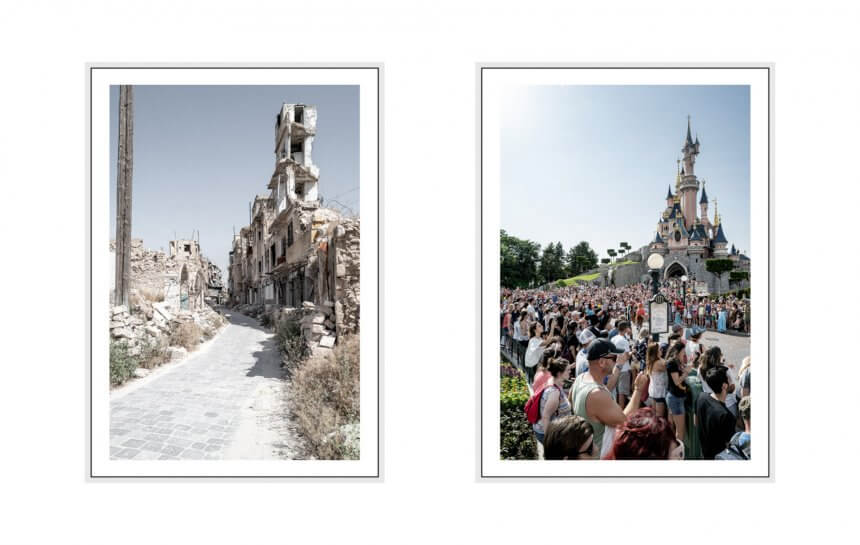 screaming silence I 2019 - 06 disneyland paris & aleppo, syria, leica q2