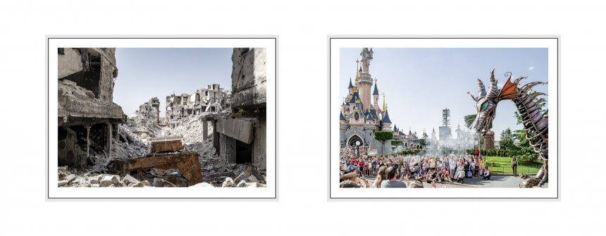 screaming silence I 2019 - 27 disneyland paris & aleppo, syria, leica q2