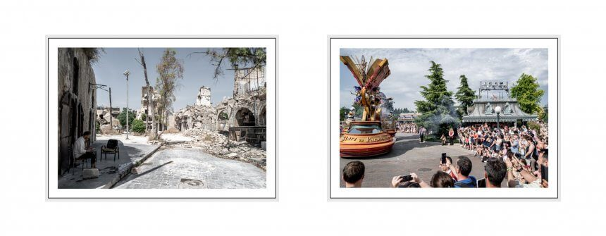 screaming silence I 2019 - 46 disneyland paris & aleppo, syria, leica q2